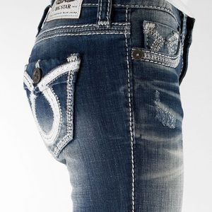 Big Star Vintage Liv Mid-Rise Boot Stretch Jeans